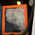 Air Filter Shredded by rodent
